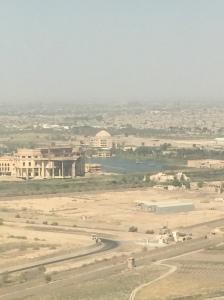 over Baghdad
